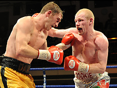 12.02.10 YORK HALL, BETHNAL GREEN, LONDON, BRITISH LIGHT WELTERWEIGHT TITLE. PROMOTER MATCHROOM.