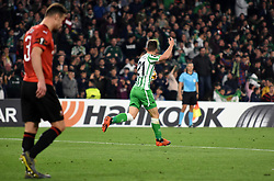 February 21, 2019 - Seville, Spain - Soccer player Lo Celso during the Europa League round of 32 second leg soccer match between Betis and Rennes at the Benito Villamarin stadium, in Seville, Spain, Thursday, Feb. 21, 2019. (Credit Image: © Gtres/NurPhoto via ZUMA Press)