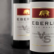 Two bottles of Eberle Cabernet Sauvignon 2013