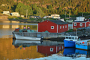 Coastal fishing village<br /> Salvage<br /> Newfoundland & Labrador<br /> Canada