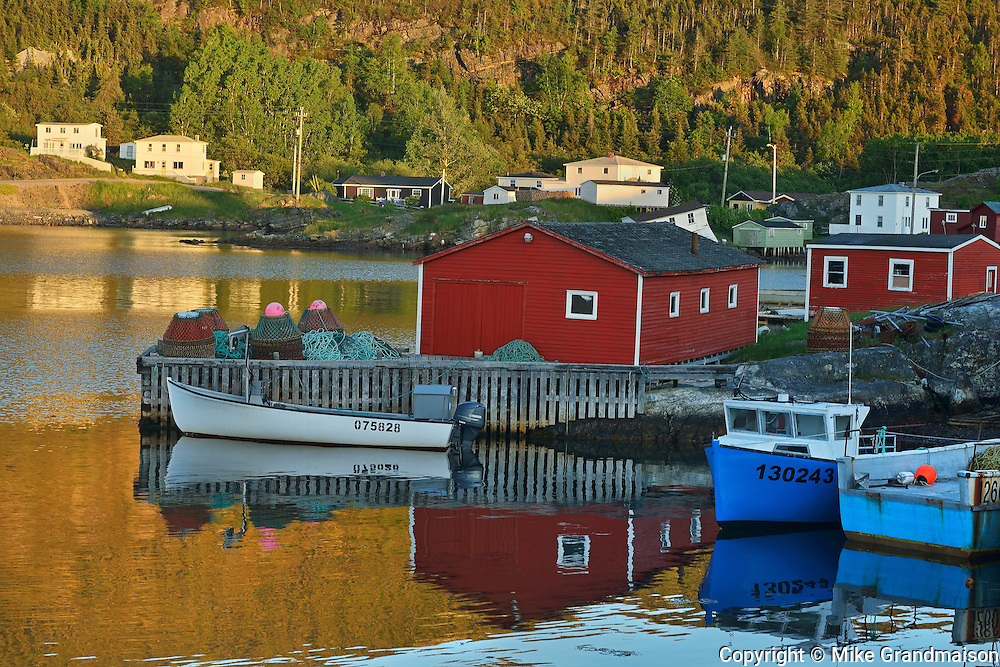 Coastal fishing village<br /> Salvage<br /> Newfoundland & Labrador<br /> Canada