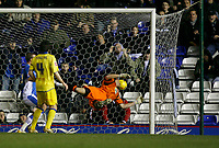 Leeds keeper Graham Stack fails to keep out Nicklas bendtner's goal