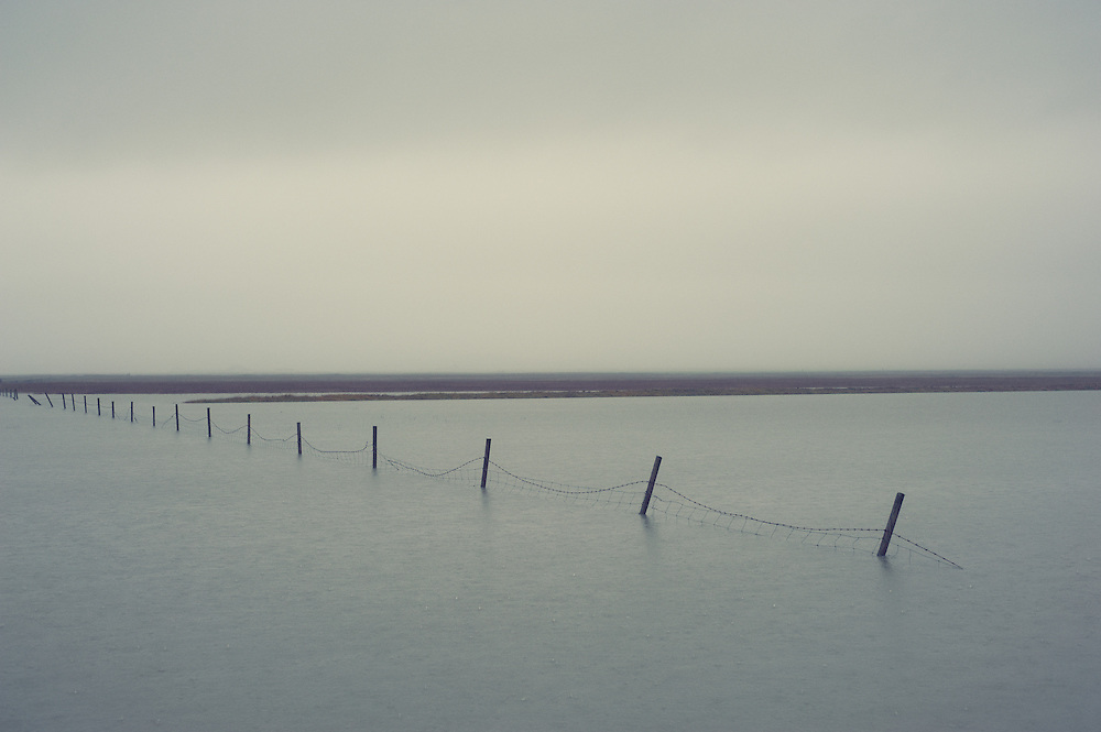 Flooding , south Iceland