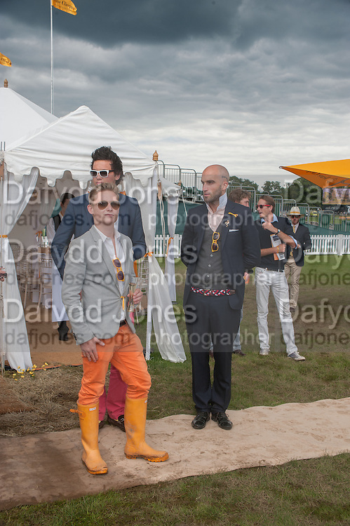 ALEX MACKWOOD; ANGUS STEWART; DRUMMOND MONEY-COUTTS, The Veuve Clicquot Gold Cup Final.<br /> Cowdray Park Polo Club, Midhurst, , West Sussex. 15 July 2012.
