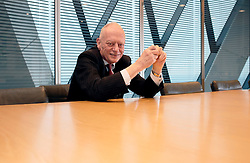 UK ENGLAND LONDON 8FEB17 - Sir Gerry Grimstone, chairman of Standard Life during an interview at the company's HQ at the Gherkin building, City of London, England.<br /> <br /> jre/Photo by Jiri Rezac<br /> <br /> © Jiri Rezac 2017
