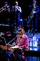 Dr John performing 'Locked Down' with Dan Auerbach of The Black Keys at BAM on April 5, 2012 ..Photo Credit ; Rahav 'Iggy' Segev/ Photopass.com