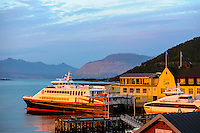 Norway, Troms. Harstad is the second largest city and municipality by population in Troms county.