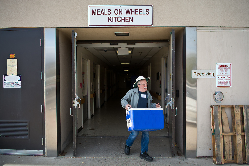 Meals on Wheels, Albuquerque, N.M., Friday, March 24, 2017. Meals on Wheels delivers about 550 meals a day. (Marla Brose/Albuquerque Journal)