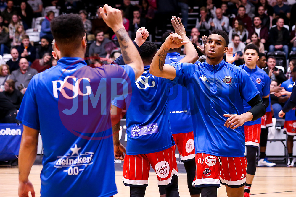 Justin Gray of Bristol Flyers - Photo mandatory by-line: Robbie Stephenson/JMP - 01/03/2019 - BASKETBALL - Eagles Community Arena - Newcastle upon Tyne, England - Newcastle Eagles v Bristol Flyers - British Basketball League Championship