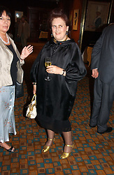 SUZY MENKES at a party to celebrate the publication of Southwold - An Earthly Paradise by Geoffrey Munn and of Forty Years of The Antique Collectors Club at The Arts Club, 40 Dover Street, London W1 on 8th June 2006.<br /><br />NON EXCLUSIVE - WORLD RIGHTS