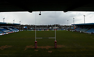 General Stadium views ahead of Normanton Knights vs Rochdale Hornets during the Ladbrokes Challenge Cup match at The LD Nutrition Stadium,Post Office Road, Featherstone<br /> Picture by Stephen Gaunt/Focus Images Ltd +447904833202 <br /> 17/03/2018