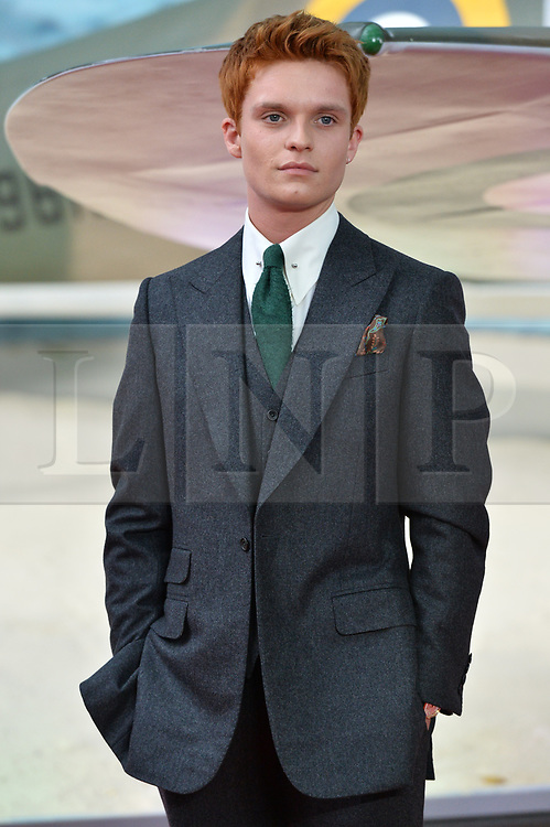 © Licensed to London News Pictures. 13/07/2017. London, UK. TOM GLYNN-CARNEY attends the Dunkirk World Film Premiere. Photo credit: Ray Tang/LNP
