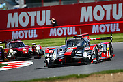 7 LMP1 Audi Sport Team Joest / Audi R18 / Marcel Fassler / Andre Lotterer / benoit Treluyer during the FIA World Endurance Championships at Silverstone, Towcester, United Kingdom on 17 April 2016. Photo by Craig McAllister.