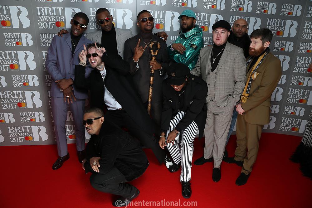 The BRIT Awards 2017,<br /> Photo Credit: John Marshall - jmenternational