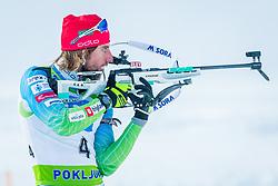 Mitja Drinovec during Slovenian National Cup in Biathlon, on December 30, 2017 in Rudno polje, Pokljuka, Slovenia. Photo by Ziga Zupan / Sportida