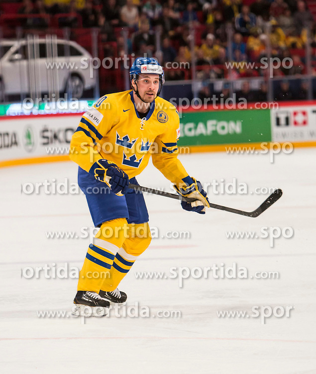 08.05.2013, Globe Arena, Stockholm, SWE, IIHF, Eishockey WM, Schweden vs Norwegen, im Bild Sverige Sweden 10 Johan Fransson // during the IIHF Icehockey World Championship Game between Sweden and Norway at the Ericsson Globe, Stockholm, Sweden on 2013/05/08. EXPA Pictures © 2013, PhotoCredit: EXPA/ PicAgency Skycam/ Johan Andersson..***** ATTENTION - OUT OF SWE *****