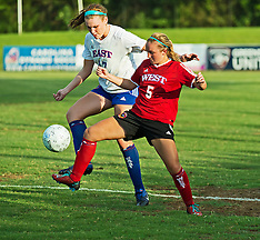2015 NCCA East-West All-Star Women's Soccer Game (McPherson Soccer Stadium))