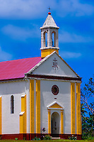 Church, Penelo, Island of Mare, Loyalty Islands, New Caledonia