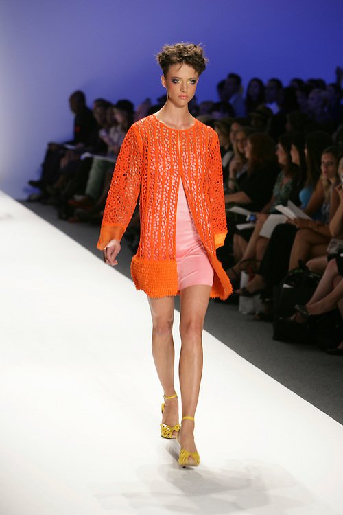 Joanna Mastrpoanni<br /> Spring/Summer 2009 Collection<br /> Mercedes-Benz Fashion Week<br /> New York, NY, Sept 2008