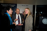 LANG LANG; ANTHONY D'OFFAY; LADY HELEN TAYLOR, The Presentation of the Montblanc de la Culture Arts Patronage Award to Anthony D'Offay. Tate Modern. 16 April 2009<br /> LANG LANG; ANTHONY D'OFFAY; LADY HELEN TAYLOR, The Presentation of the Montblanc de la Culture Arts Patronage Award to Anthony D'Offay. Tate Modern. 16 April 2009 *** Local Caption *** -DO NOT ARCHIVE-© Copyright Photograph by Dafydd Jones. 248 Clapham Rd. London SW9 0PZ. Tel 0207 820 0771. www.dafjones.com.