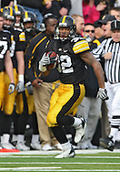 November 21, 2009: Iowa running back Adam Robinson (32) during the first half of the Iowa Hawkeyes 12-0 win over the Minnesota Golden Gophers at Kinnick Stadium in Iowa City, Iowa on November 21, 2009.