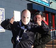 Mixu mask - Dundee v Dundee United, Ladbrokes Scottish Premiership at Dens Park<br /> <br /> <br />  - &copy; David Young - www.davidyoungphoto.co.uk - email: davidyoungphoto@gmail.com