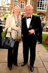 RICHARD SHEPHERD and SUE BLAKEY at the Lady Taverners Westminster Abbey Garden Party, The College Garden, Westminster Abbey, London SW1 on 10th July 2007.<br /><br />NON EXCLUSIVE - WORLD RIGHTS