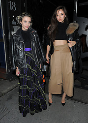 Billie JD Porter and guest attend LFW s/s 2016: PPQ  catwalk show at The Vinyl Factory during London Fashion Week. London, UK. 18/09/2015<br />BYLINE MUST READ : GOTCHAIMAGES.COM<br /><br />Copyright by © Gotcha Images Ltd. All rights reserved.<br />Usage of this image is conditional upon the acceptance <br />of Gotcha Images Ltd, terms and conditions available at<br />www.gotchaimages.com