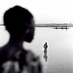 Shot along the Niger River in Djenne, Mali. November 2007.