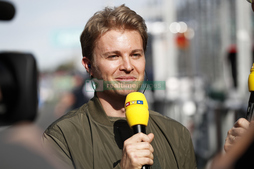 March 24, 2018 - Melbourne, Victoria, Australia - ROSBERG Nico, former F1 World Champion during 2018 Formula 1 championship at Melbourne, Australian Grand Prix, from March 22 To 25 - s: FIA Formula One World Championship 2018, Melbourne, Victoria : Motorsports: Formula 1 2018 Rolex  Australian Grand Prix, (Credit Image: © Hoch Zwei via ZUMA Wire)