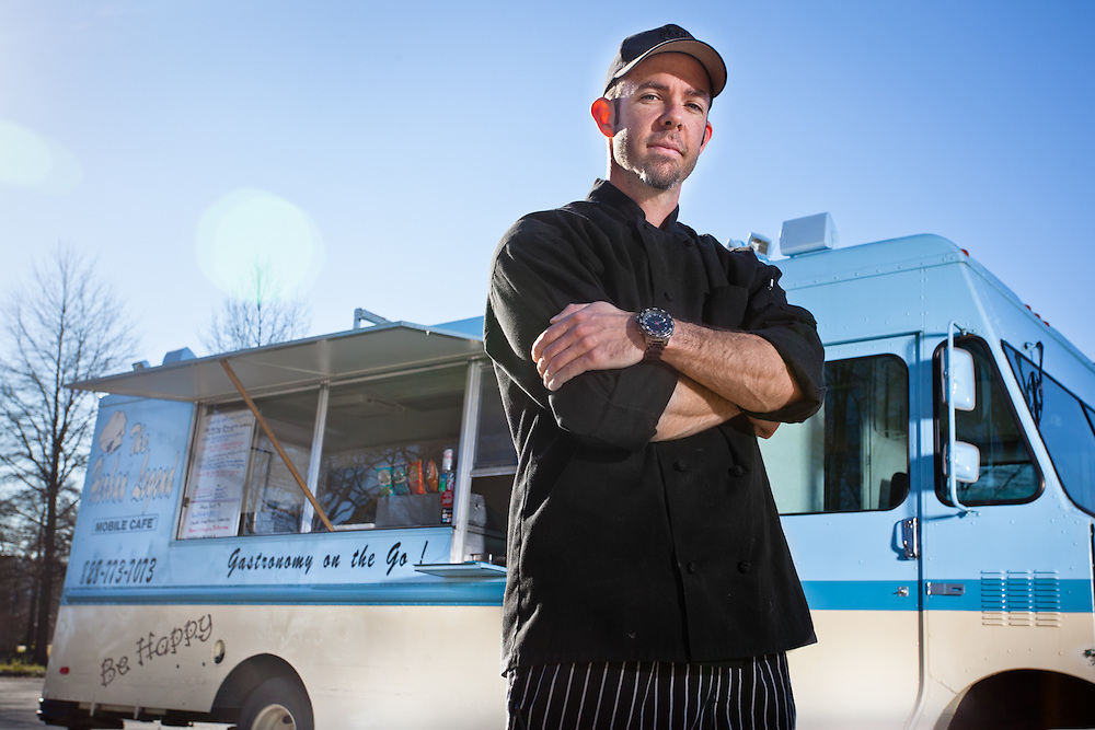 Brian Seeley - Chef/Owner of the Herban Legend Mobile Cafe based in Charlotte, NC.