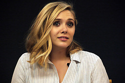 Actress Elizabeth Olsen attends Meet The Filmmakers: 'Avengers: Age Of Ultron' at the Apple Store in London, UK. 22/04/2015<br />BYLINE MUST READ : GOTCHAIMAGES.COM<br /><br />Copyright by © Gotcha Images Ltd. All rights reserved.<br />Usage of this image is conditional upon the acceptance <br />of Gotcha Images Ltd, terms and conditions available at<br />www.gotchaimages.com