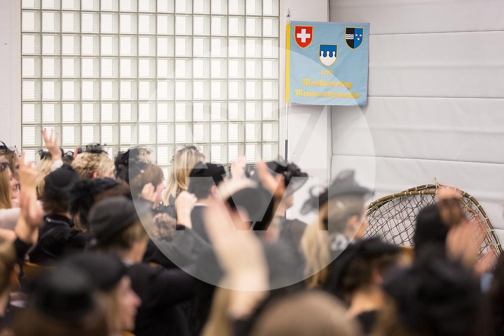 SCHWEIZ - MEISTERSCHWANDEN - Meitlitage 2018, die Frauen und Meitli an der Generalversammlung - 11. Januar 2018 © Raphael Hünerfauth - http://huenerfauth.ch