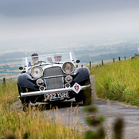 Richard Dresner and Colin Mackenzie in their Alvis Speed 25 Short Chassis Tourer   on the Royal Automobile Club 1000 Mile Trial 2015