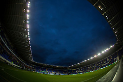 Players warm up before the match under a moody sky - Mandatory by-line: Jason Brown/JMP - 09/09/2016 - FOOTBALL - Madejski Stadium - Reading, England - Reading v Ipswich Town - Sky Bet Championship