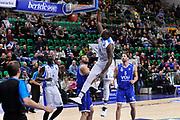 DESCRIZIONE : Eurocup 2014/15 Last 32 Gruppo H Dinamo Banco di Sardegna Sassari - Buducnost VOLI Podgorica<br /> GIOCATORE : Rakim Sanders<br /> CATEGORIA : Schiacciata<br /> SQUADRA : Dinamo Banco di Sardegna Sassari<br /> EVENTO : Eurocup 2014/2015<br /> GARA : Dinamo Banco di Sardegna Sassari - Buducnost VOLI Podgorica<br /> DATA : 28/01/2015<br /> SPORT : Pallacanestro <br /> AUTORE : Agenzia Ciamillo-Castoria / Luigi Canu<br /> Galleria : Eurocup 2014/2015<br /> Fotonotizia : Eurocup 2014/15 Last 32 Gruppo H Dinamo Banco di Sardegna Sassari - Buducnost VOLI Podgorica<br /> Predefinita :