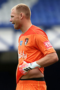 Bournemouth goalkeeper Aaron Ramsdale (12) during the Premier League match between Everton and Bournemouth at Goodison Park, Liverpool, England on 26 July 2020.