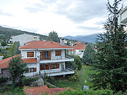 Greece, Macedonia, Castoria cityscape