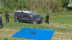 DRONI UTILIZZATI DAI CARABINIERI PER LE RICERCHE<br /> RICERCHE IGOR VACLAVIC DOPO OMICIDIO VERRI