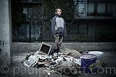 Gypsy boy - Zagreb