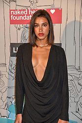 Chiara Sampaio at the Fabulous Fund Fair in aid of Natalia Vodianova's Naked Heart Foundation in association with Luisaviaroma held at The Round House, Camden, London England. 18 February 2019.