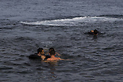 Nov. 24, 2015 - Lesbos, Greece - <br /> <br /> Refugees risk there lives to reach Lesbos Island<br /> <br /> Refugees and migrants keep risking their life to reach lesbos island on november 24, Greece. <br />  ©Tasos Markou/Exclusivepix Media