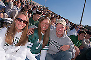 17904Homecoming 2006 10/20/06:  Fotball vs. Buffalo ...Andrew Ryzner, Karlee Cyprych, Ashley Kilpatrick