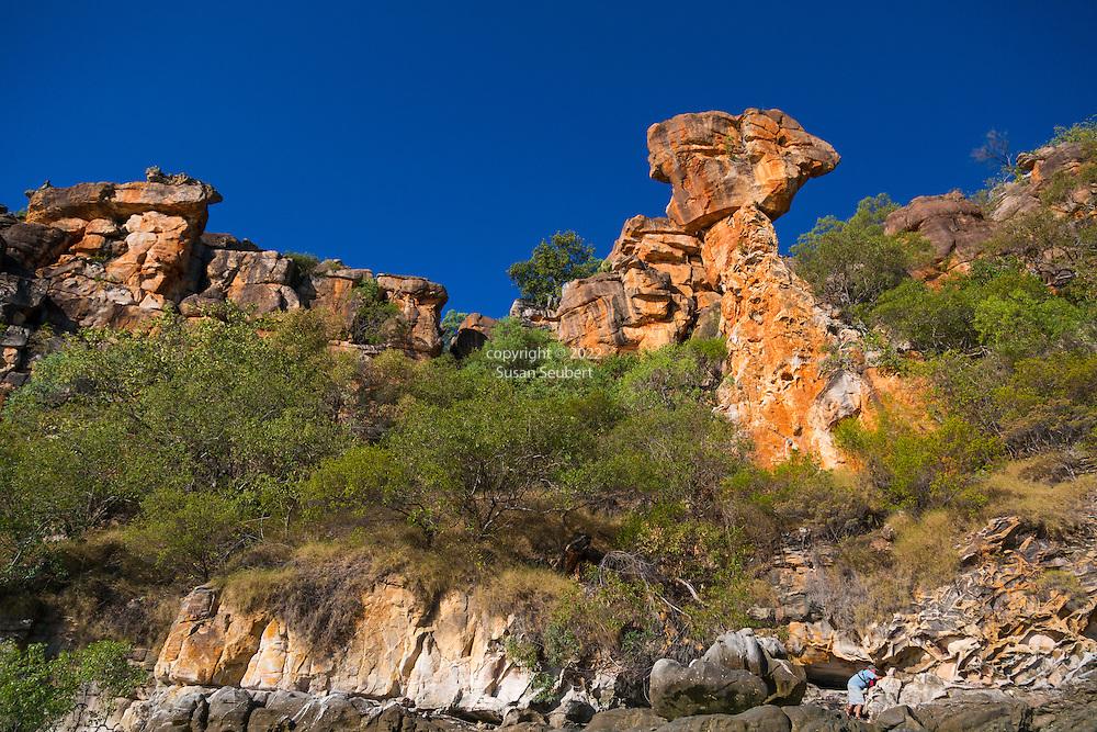 The Hoodoo, a geologic feature known as Thor's Hammer, Kimberley Coast, Australia