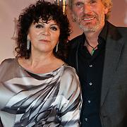 NLD/Utrecht/20100922 - Opening NFF 2010 en premiere Tirza, Henriette Tol en partner Rob Snoek