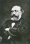 Leon Gambetta (1838-1882) French statesman who was active during the Franco-Prussian War 1870-187 and later.