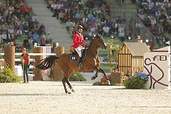 Sugitani, Taizo, Avenzio<br /> Normandie - WEG 2014<br /> 2. Qualifikation<br /> © www.sportfotos-lafrentz.de/ Stefan Lafrentz