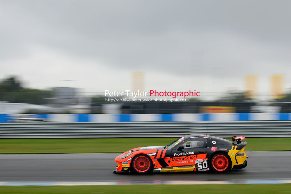 Graham Johnson (GBR) / Mike Robinson (GBR)  #50 PMW Expo Racing/Optimum Motorsport  Ginetta G55 GT3  Ford Cyclone 3.7L V6. British GT Championship at Donington Park, Melbourne, Leicestershire, United Kingdom. September 10 2016. World Copyright Peter Taylor/PSP.
