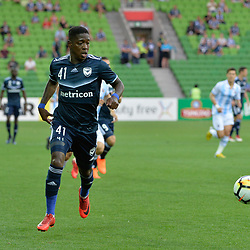 Leroy George of Melbourne Victory FC - AFC Champions League, 13 February 2018, Group F, Melbourne Victory FC v Ulsan Hyundai at Melbourne Rectangular Stadium (Aami Park), Australia |© Mark Avellino | SportPix.org.uk