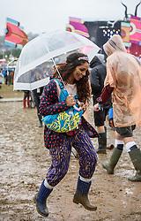 ©London News Pictures. Glastonbury Festival 2015 - Friday, Worthy Farm, Pilton.<br /> <br /> Date: 26/06/2015<br /> Photographer: Artur Lesniak /LNP